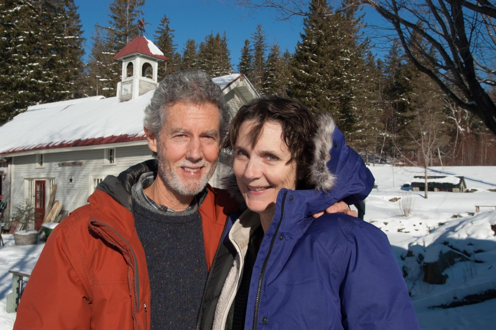 Mark Rice and Annie Woodward. January 2016