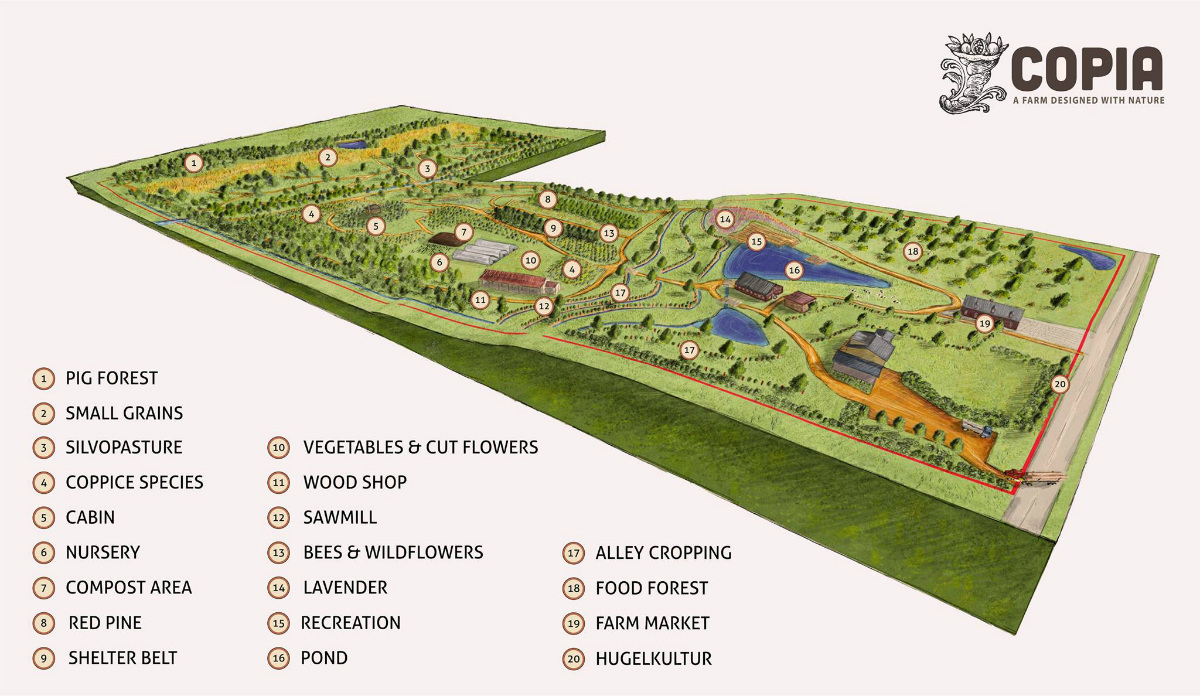 Mark 39 s musings defining permaculture windekind farm for 2 acre farm layout